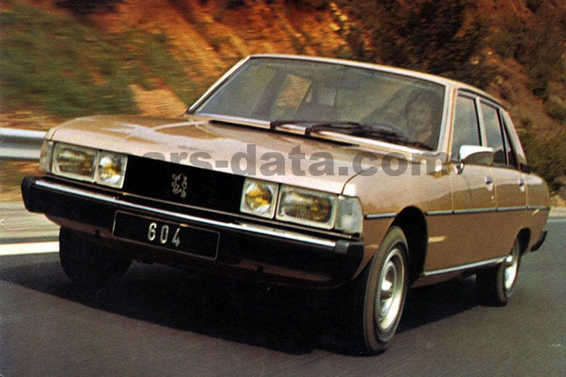 Peugeot 604 1975 pictures (1 o...