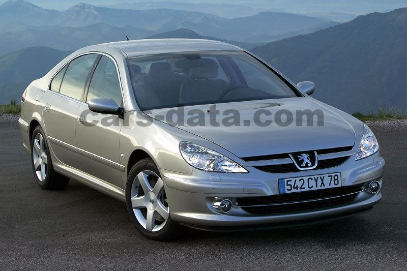 Peugeot 607 2005 pictures (1 of 10) | cars-data.com