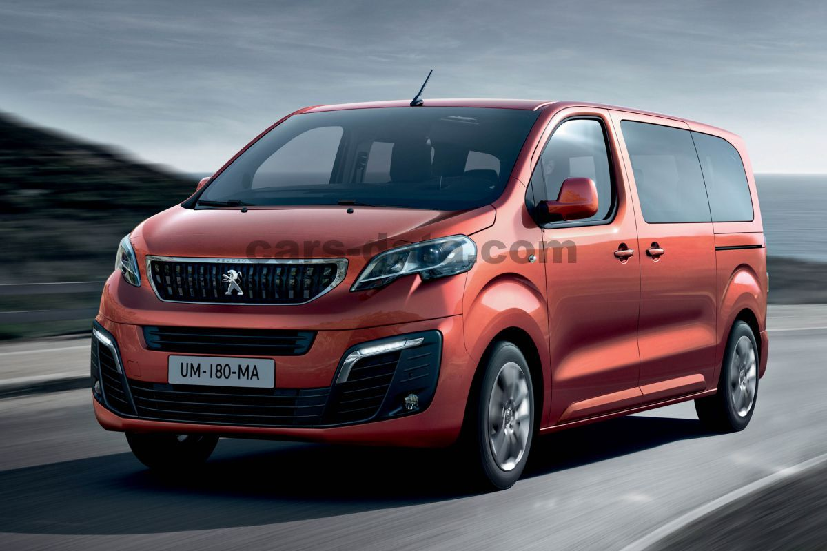 Peugeot Expert Combi 2016 pictures (3 of 9) | cars-data.com