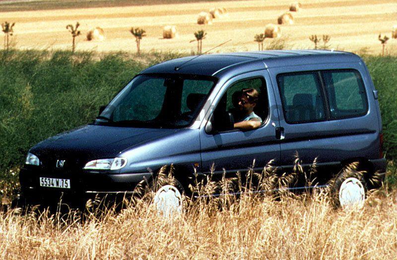 peugeot partner combispace 1.8, manual, 1997 - 2001, 90 hp, 4