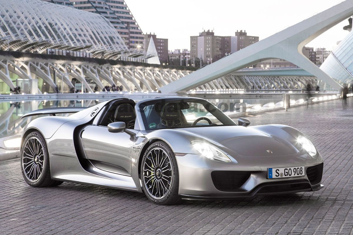 Porsche 918 Spyder sequential automatic 2 door specs ...