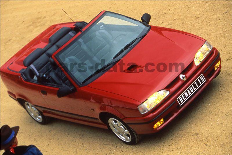 renault 19 cabriolet 1992 imgenes fotos imgenes renault. Black Bedroom Furniture Sets. Home Design Ideas