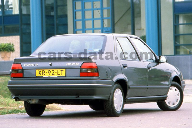 renault 19 chamade 1989 pictures renault 19 chamade 1989