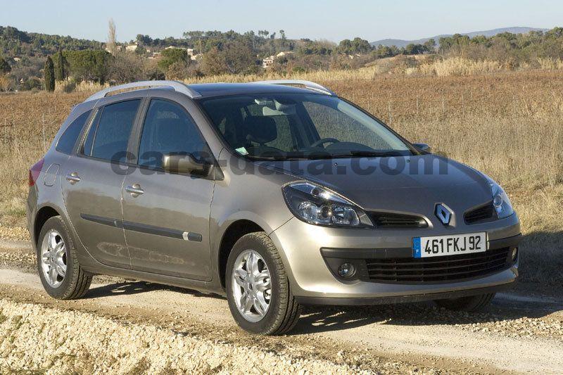 Renault Clio Estate 2008 Pictures 1 Of 17 Cars Data
