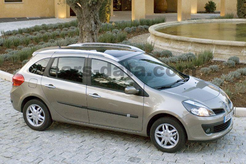 Renault Clio Estate 2008 Pictures 14 Of 17 Cars Data