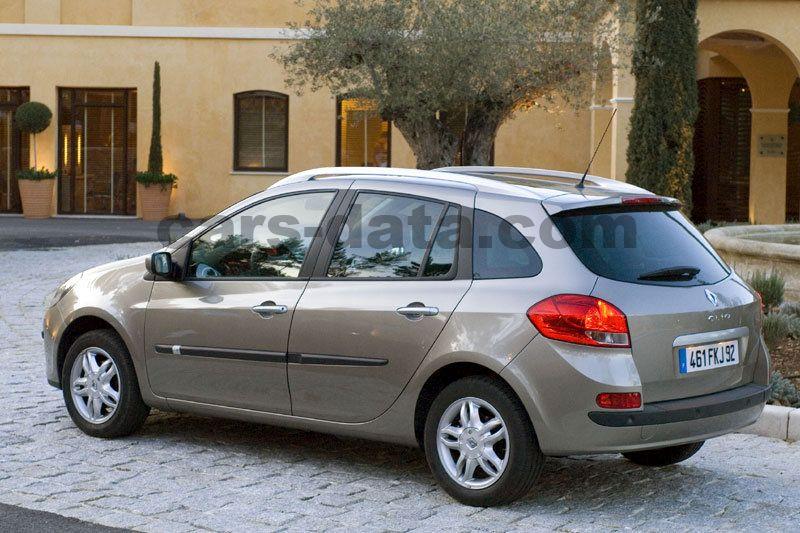 Renault Clio Estate 2008 Pictures 15 Of 17 Cars Data