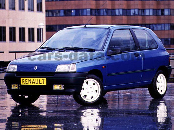renault clio baccara 1 8 manual 3 door specs cars data com rh cars data com 2016 Renault Scenic Pick Up Renault Logan