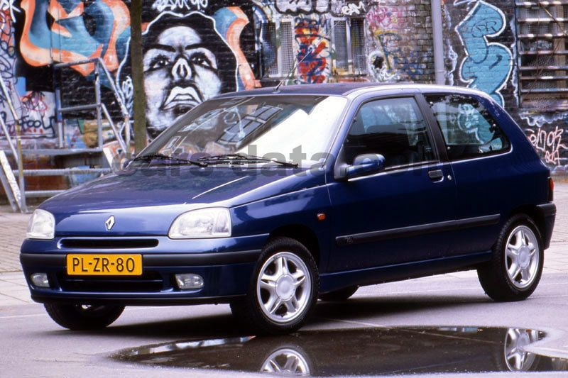 Japanese Car Brands >> Renault Clio Oasis 1.2 manual 3 door specs | cars-data.com