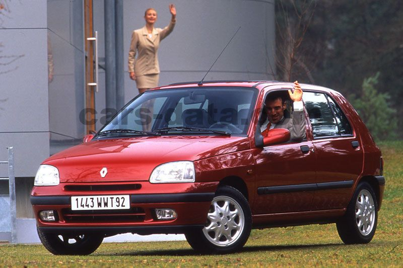 Renault Clio on 1997 Dodge Suv