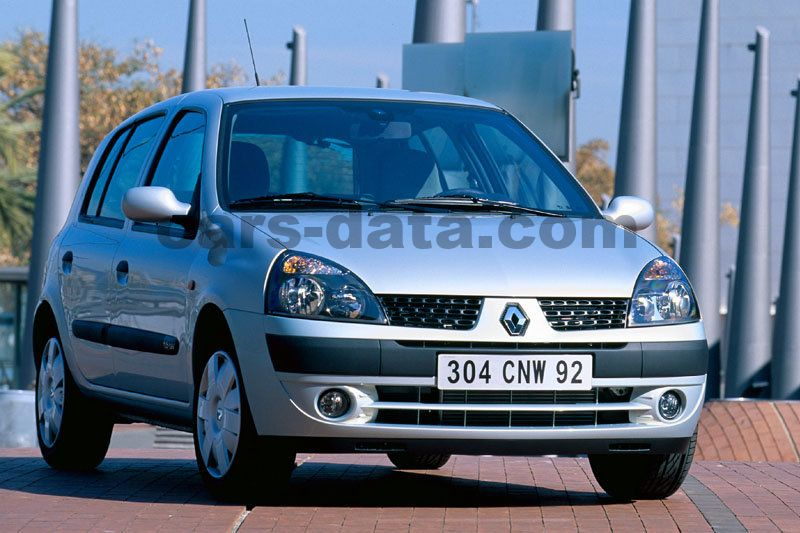 Renault Clio 2001 Pictures  1 Of 8