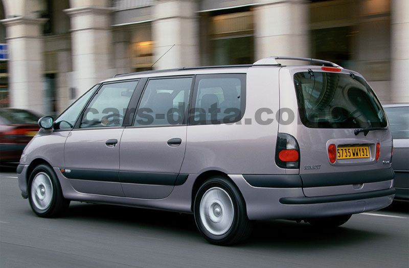 Japanese Car Brands >> Renault Grand Espace 2000 pictures (5 of 9) | cars-data.com