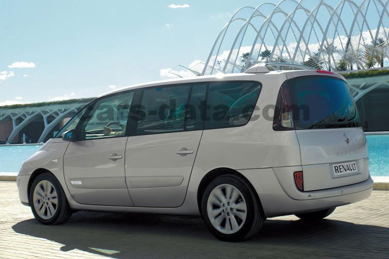 renault grand espace 2006 pictures renault grand espace. Black Bedroom Furniture Sets. Home Design Ideas