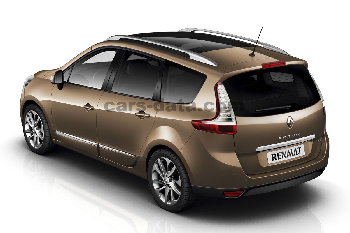 Renault Grand Scenic 2012 Pictures 6 Of 24 Cars Data Com