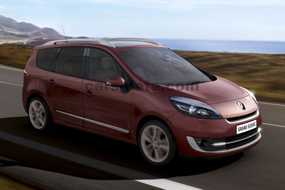 Renault Grand Scenic 2012 Pictures  18 Of 24