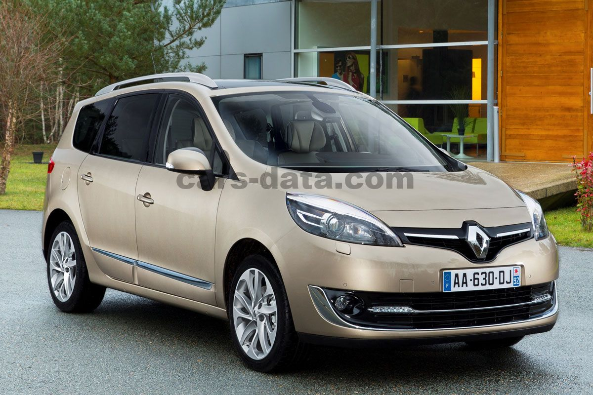 renault grand scenic dci 110 energy bose 5p manual 2013 present 110 hp 5 doors technical. Black Bedroom Furniture Sets. Home Design Ideas