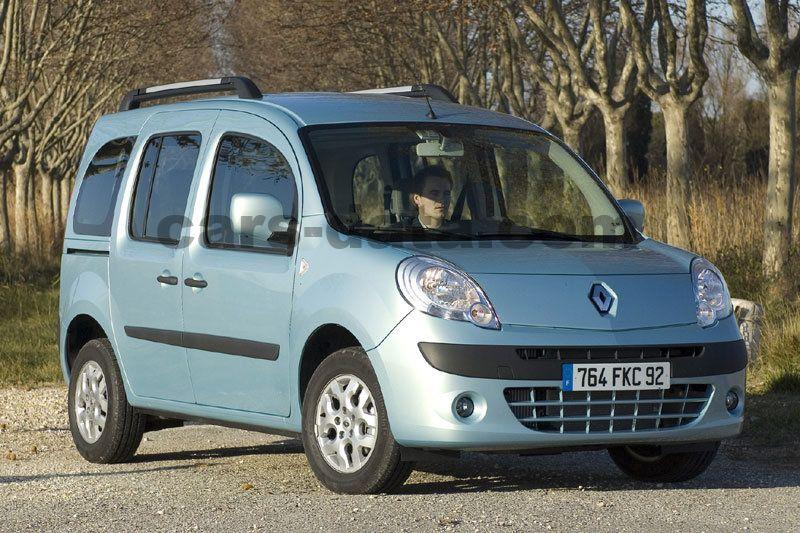 Toyota Company Latest Models >> Renault Kangoo Family 1.6 16V 110 Expression, Automatic, 2008 - 2013, 106 Hp, 5 doors Technical ...