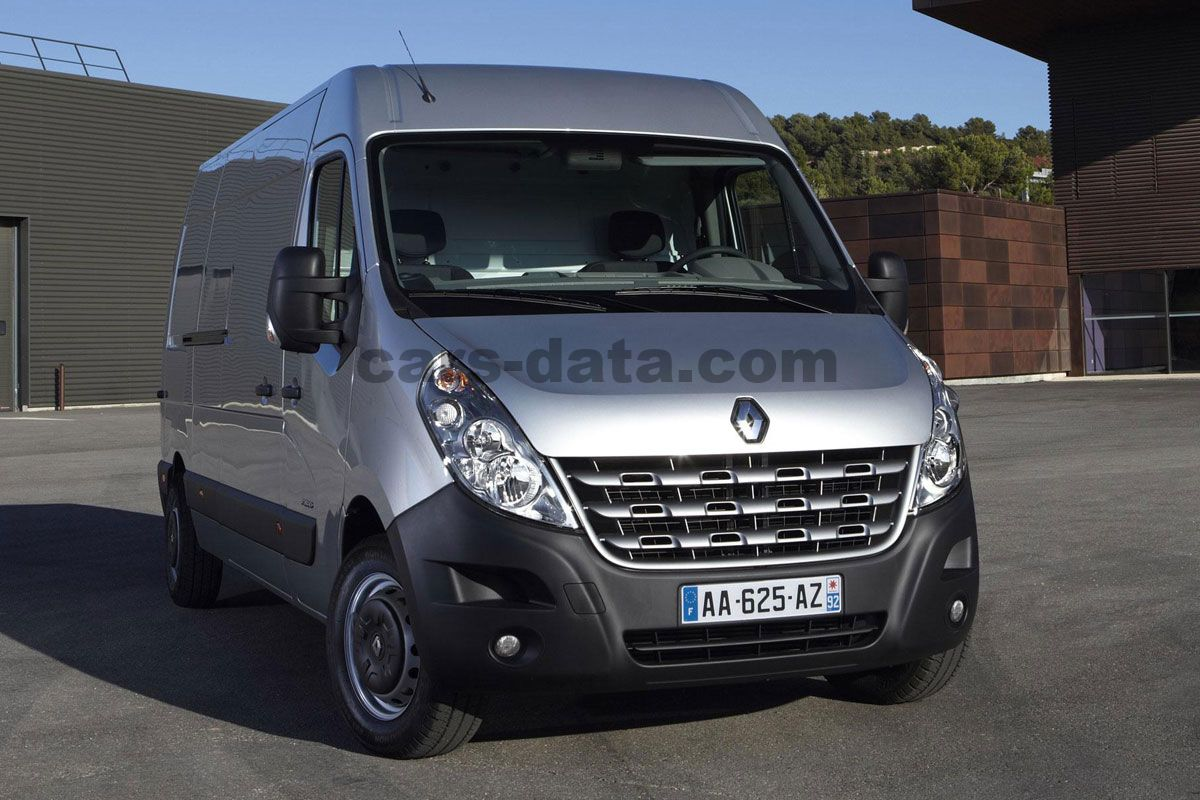 Toyota Company Latest Models >> Renault Master Combi 2011 pictures, Renault Master Combi 2011 images, (2 of 13)