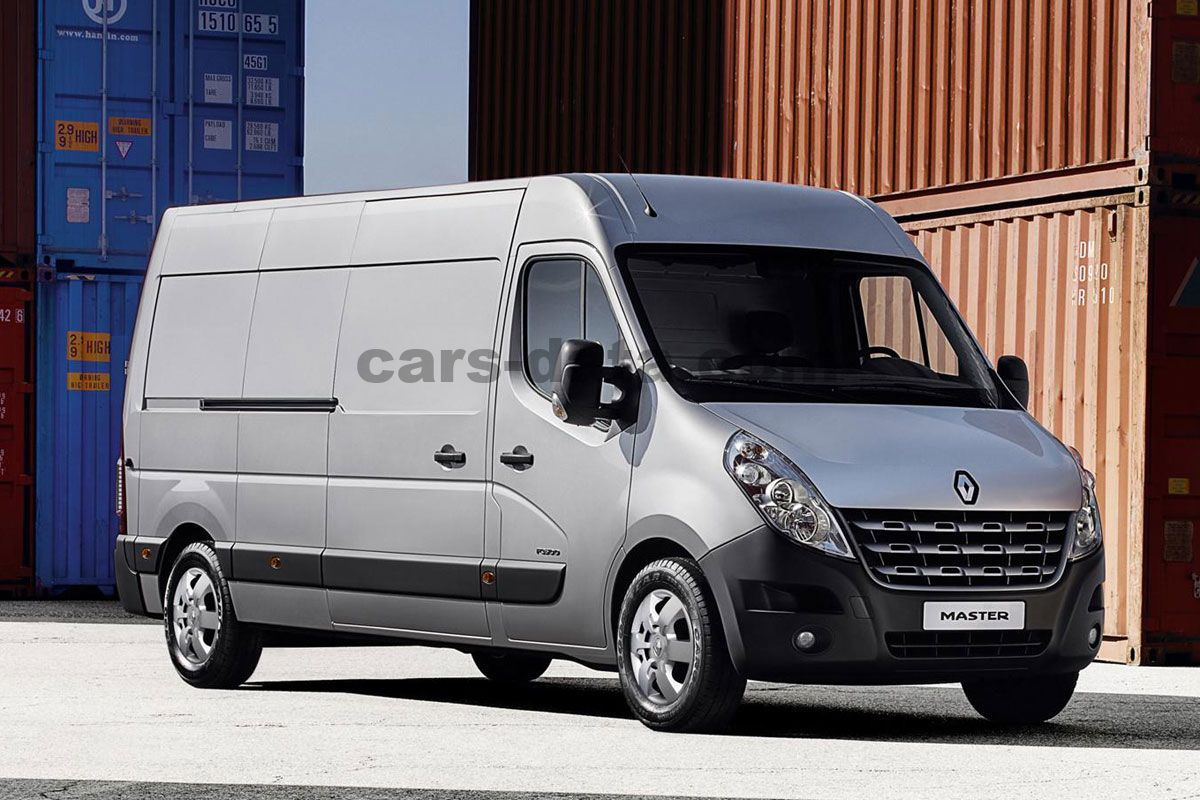 Japanese Car Brands >> Renault Master Combi 2011 pictures (11 of 13) | cars-data.com