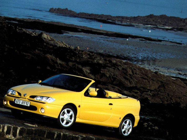 renault megane cabriolet manual 1997 1999 90 hp 2 doors technical specifications. Black Bedroom Furniture Sets. Home Design Ideas