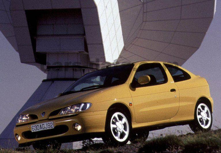 renault megane coupe 2 0 16v manual 1996 1999 150 hp 2 doors technical specifications. Black Bedroom Furniture Sets. Home Design Ideas