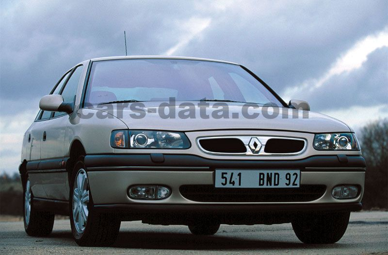 Renault Safrane 1996 Pictures 4 Of 5 Cars Data