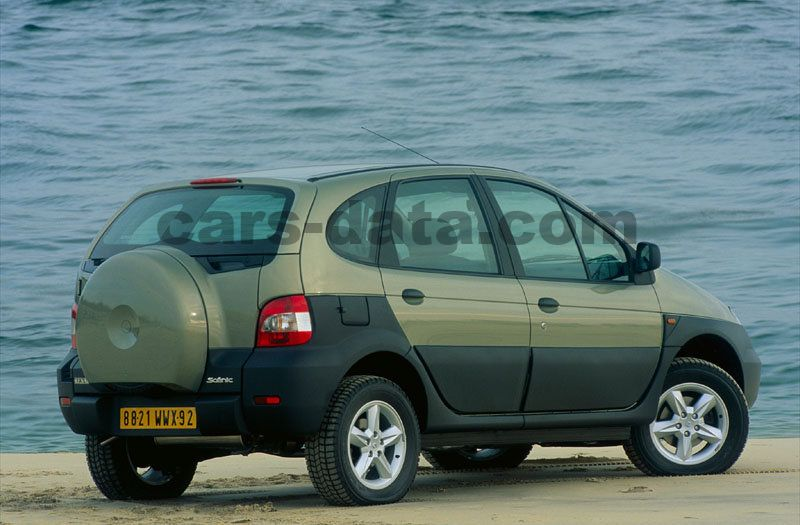 Renault Scenic RX4 2000 pictures (2 of 7) | cars-data.com