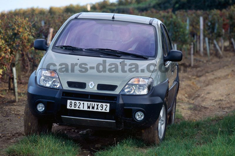 Renault Scenic RX4 Fotos