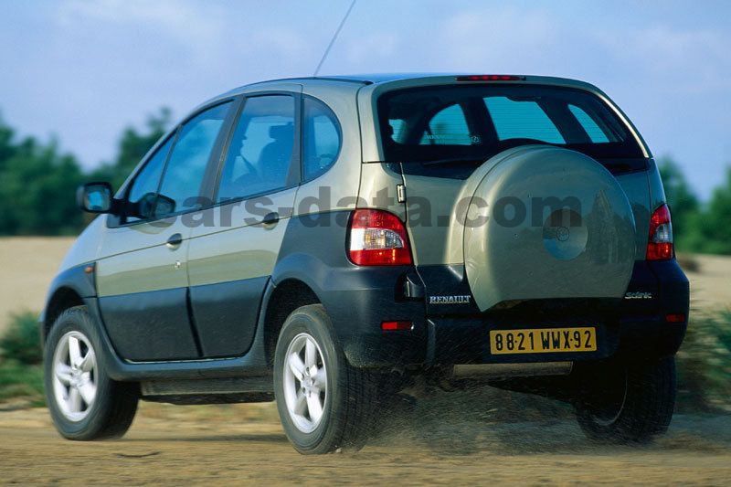 Renault Scenic Rx4 2001 Pictures 5 Of 7 Cars Data Com