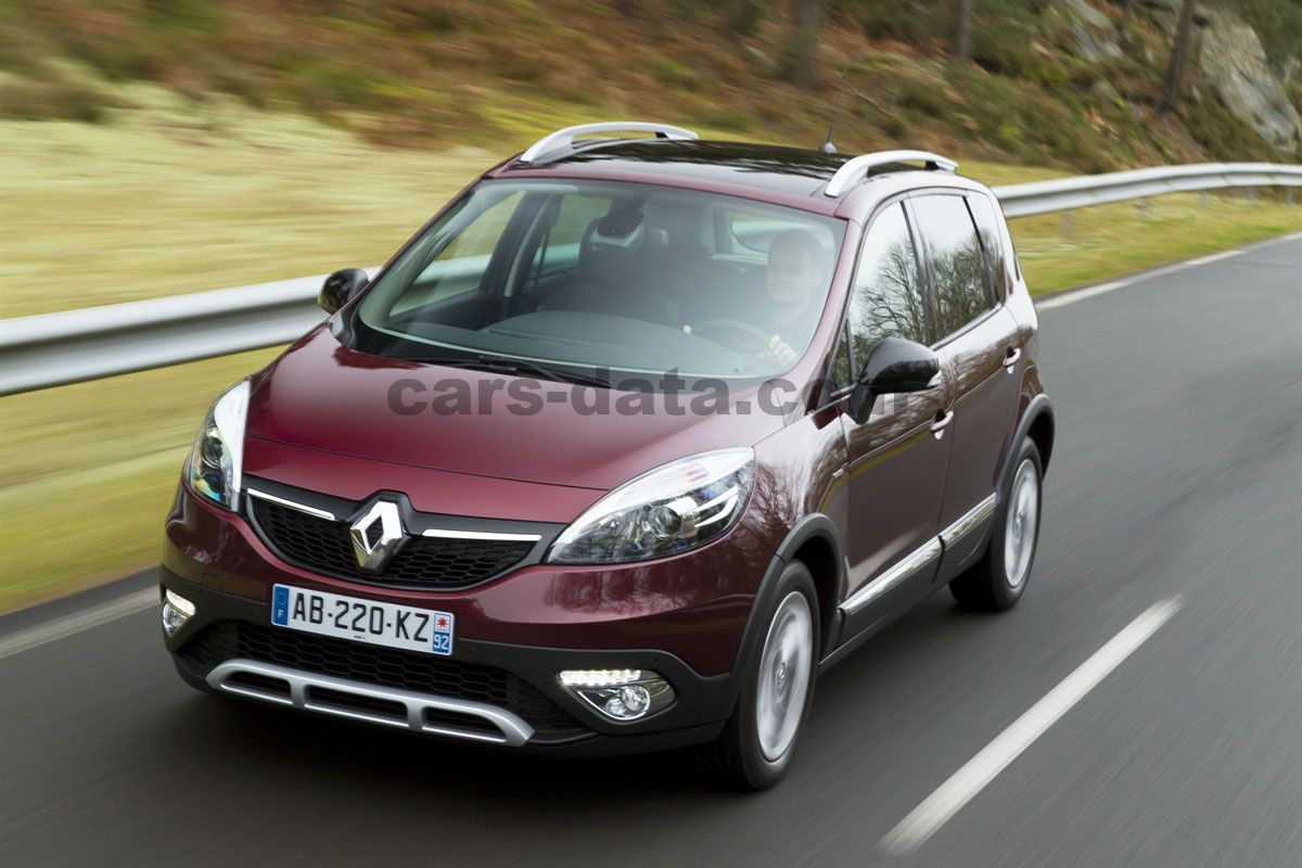 renault scenic xmod 2013 slike fotografije renault. Black Bedroom Furniture Sets. Home Design Ideas