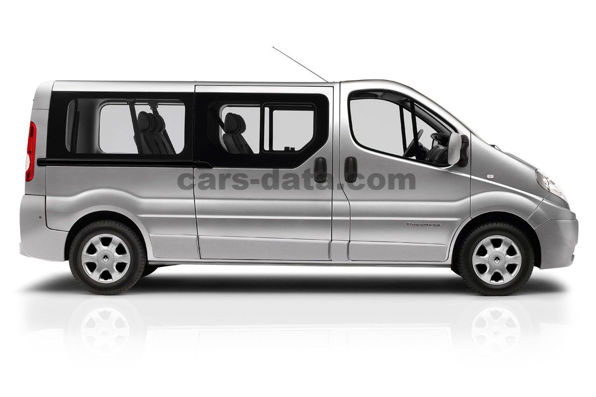 renault trafic passenger 2011 pictures renault trafic. Black Bedroom Furniture Sets. Home Design Ideas