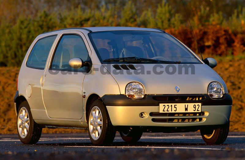 renault twingo 1 2 initiale manual 2000 2002 60 hp 3 doors technical specifications. Black Bedroom Furniture Sets. Home Design Ideas