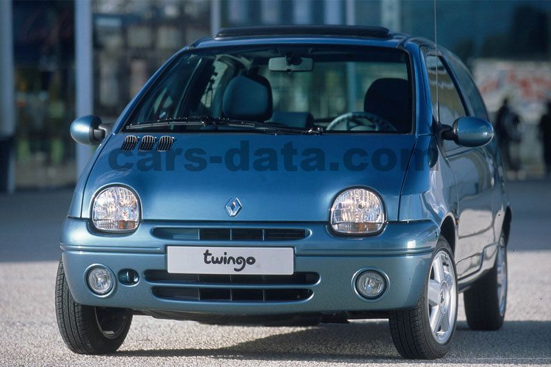 renault twingo 1 2 dynamique manual 2003 2004 60 hp 3 doors technical specifications. Black Bedroom Furniture Sets. Home Design Ideas