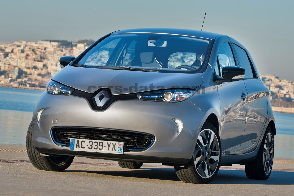 renault zoe life 2013 present 88 hp 5 doors technical specifications. Black Bedroom Furniture Sets. Home Design Ideas