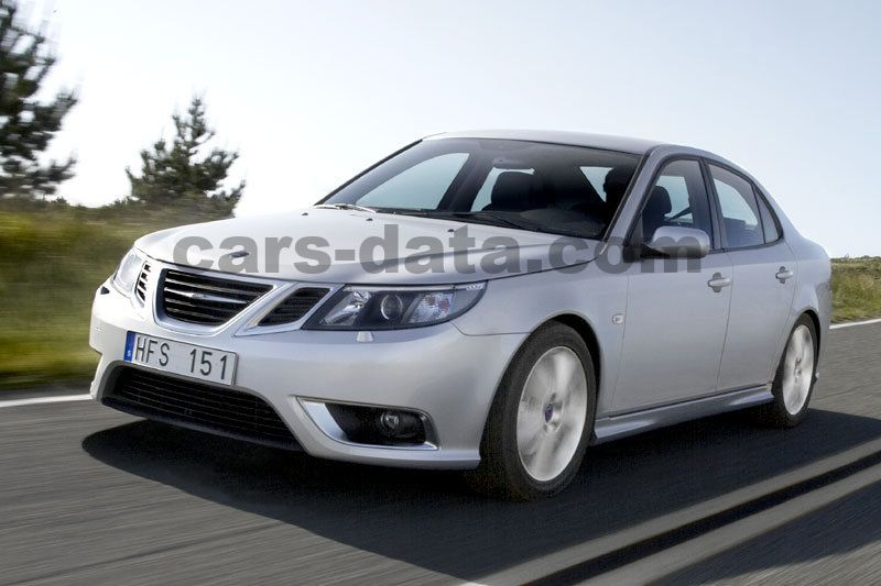 Saab 9 3 Sport Sedan 2.8 Turbo X V6 Aero XWD Manual 4 Door Specs | Cars  Data.com