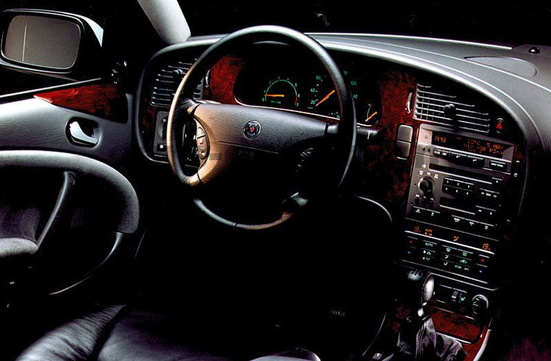 Saab 9-5 1997 pictures (4 of 4) | cars-data.com