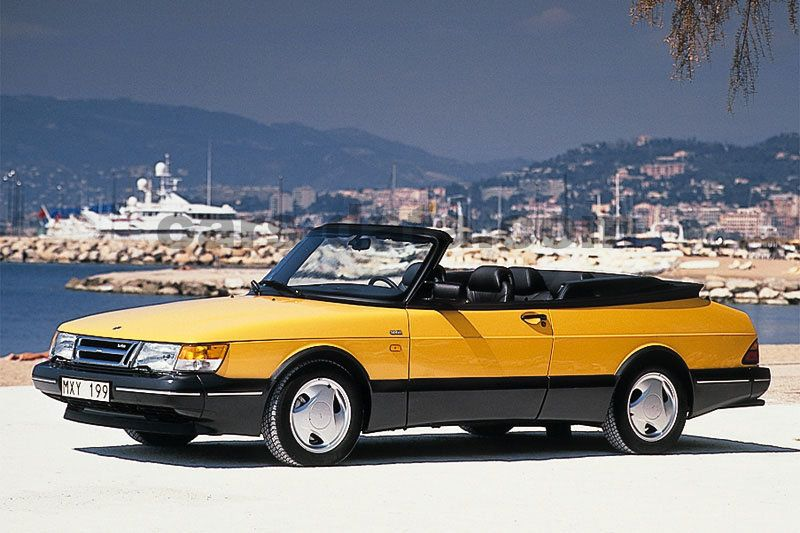 Fiat Abarth Specifications >> Saab 900 Cabrio 1986 pictures (1 of 10) | cars-data.com