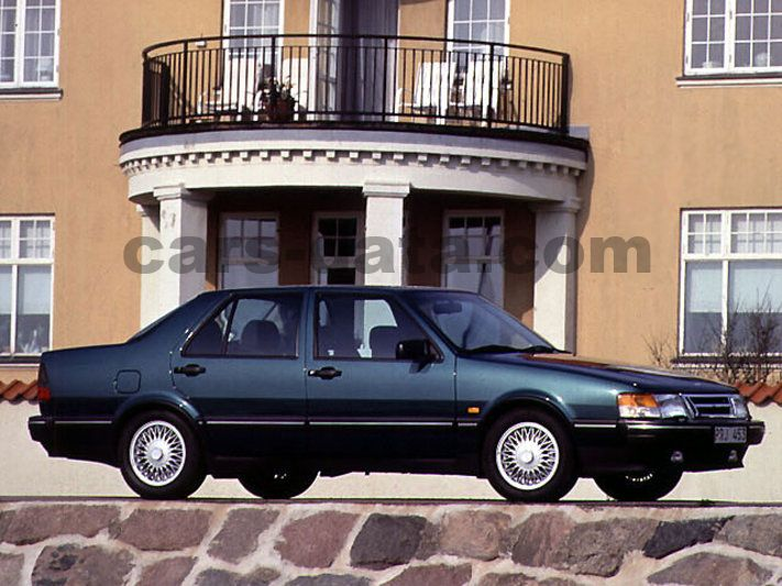 Saab 9000 Cd 2 3 Turbo Griffin Manual 1993 1994 200 Hp 4 Doors Technical Specifications
