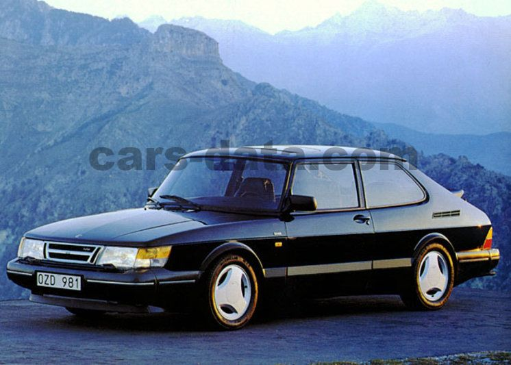 Saab 900 Turbo 16s Manual 3 Door Specs Cars Data Com