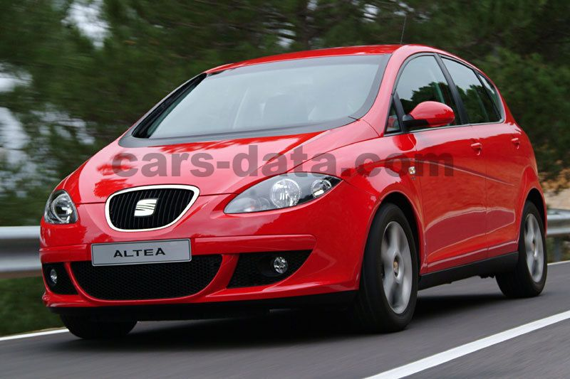 seat altea 2 0 tfsi fr manual 2006 2009 200 hp 5 doors technical specifications. Black Bedroom Furniture Sets. Home Design Ideas