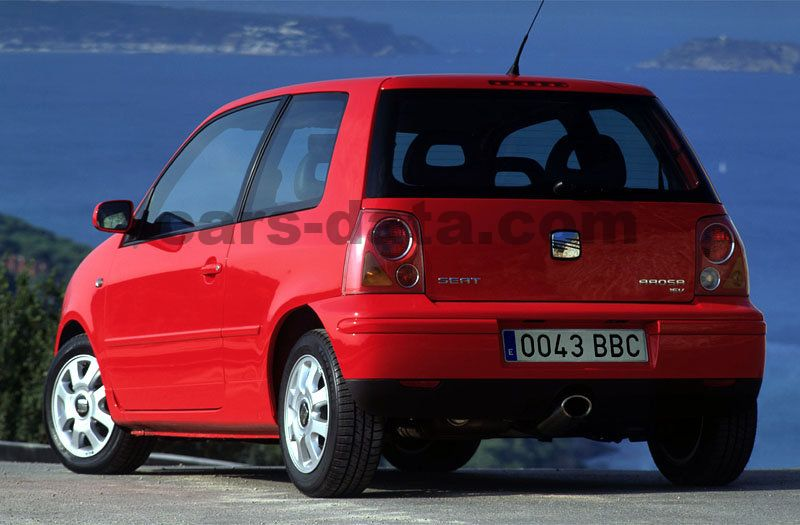 seat arosa 2001 pictures seat arosa 2001 images 2 of 8. Black Bedroom Furniture Sets. Home Design Ideas