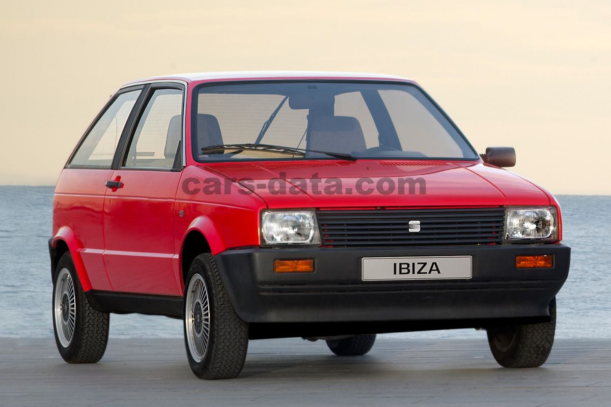 Seat Ibiza 1984 Pictures Seat Ibiza 1984 Images 1 Of 2