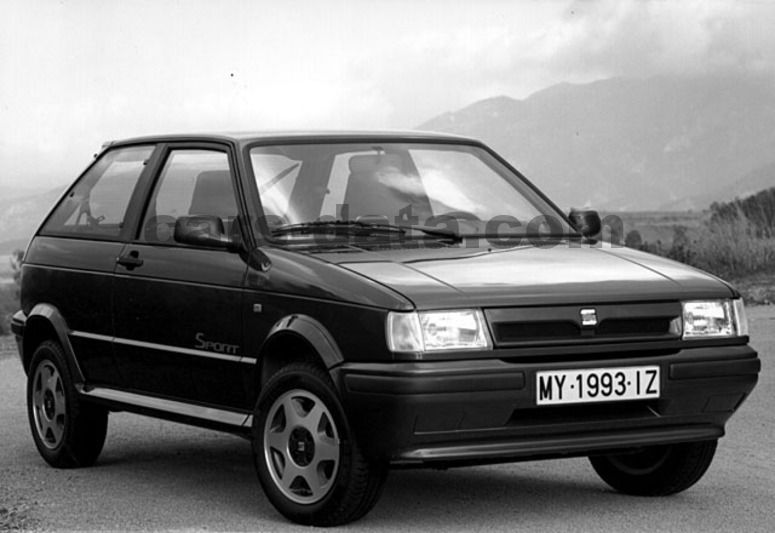 seat ibiza glx manual 1991 1993 71 hp 3 doors technical specifications. Black Bedroom Furniture Sets. Home Design Ideas