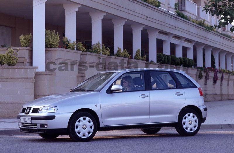 seat ibiza 1 4 16v signo manual 5 door specs cars data com rh cars data com Seat Ibiza 1995 Interior Seat Ibiza 2002