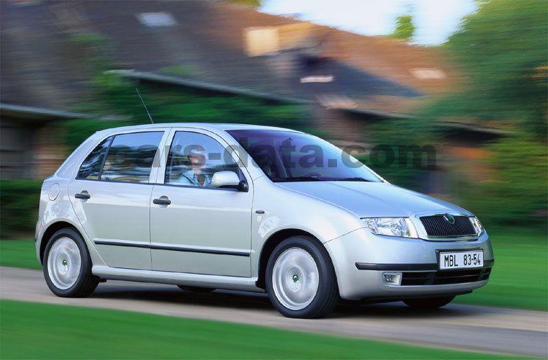 Lexus Hybrid Suv >> Skoda Fabia 1.9 TDI Ambiente manual 5 door specs | cars ...