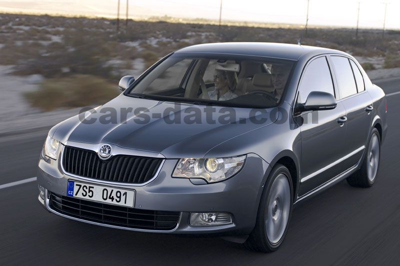 Skoda Superb Slike