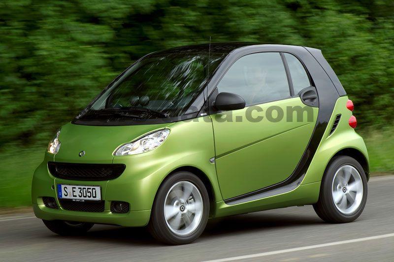 Smart Fortwo Coupe Passion 62kW Automatski 3 vrata specifikacije   Cars -data.com