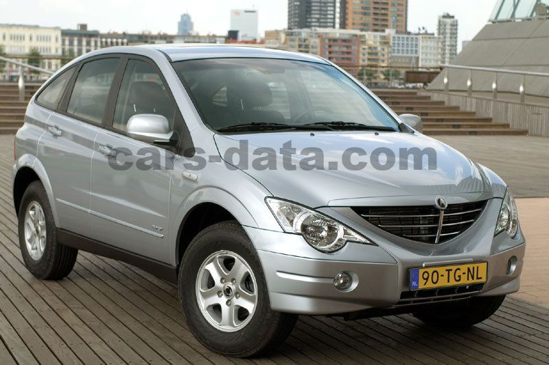 Ssangyong Actyon A230 4wd Sport Manual 5 Door Specs Cars Data