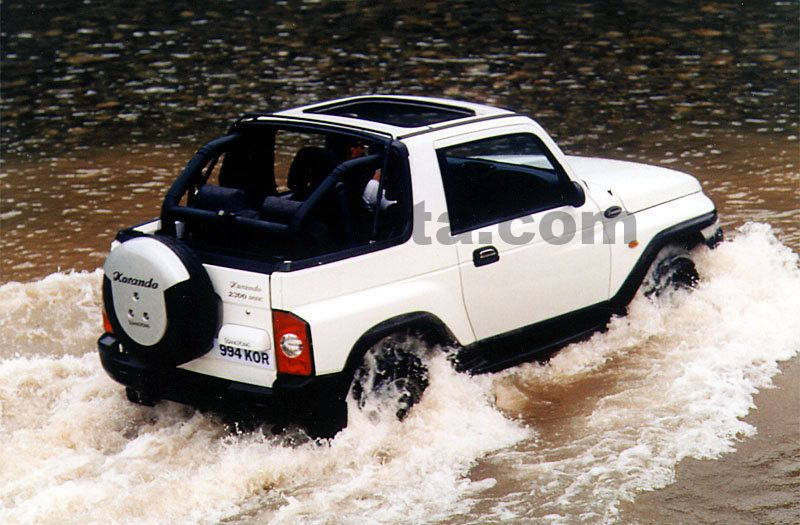 Toyota Company Latest Models >> SsangYong Korando TD 2.3, Manual, 1999 - 2002, 101 Hp, 3 doors Technical Specifications