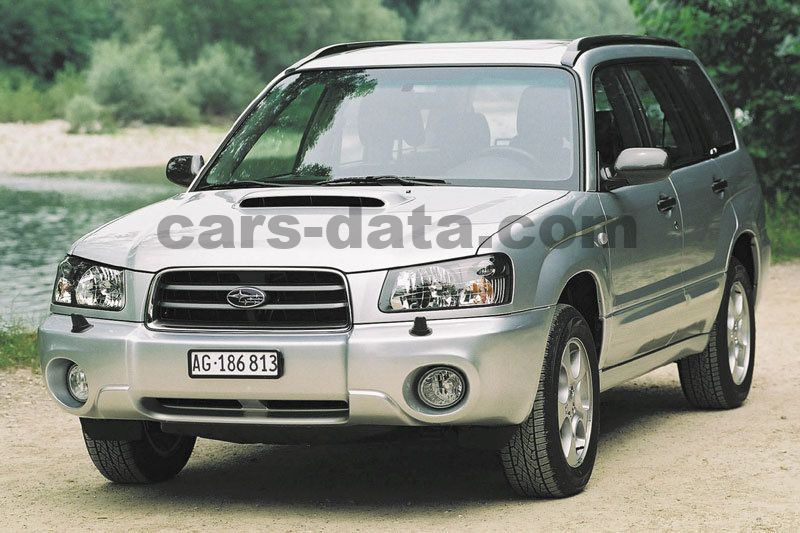 subaru forester 2 0 xt awd automatic 2002 2005 177 hp 5 doors technical specifications. Black Bedroom Furniture Sets. Home Design Ideas