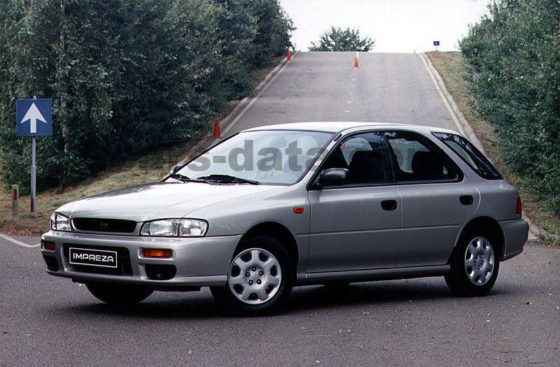 Subaru Impreza Plus 2 0 Gl Awd  Manual  1998